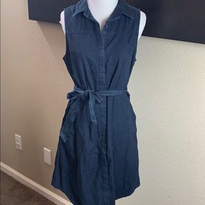 New A New Day button down denim dress S